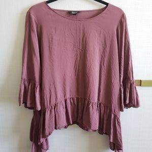 Simply Vera mauve blouse